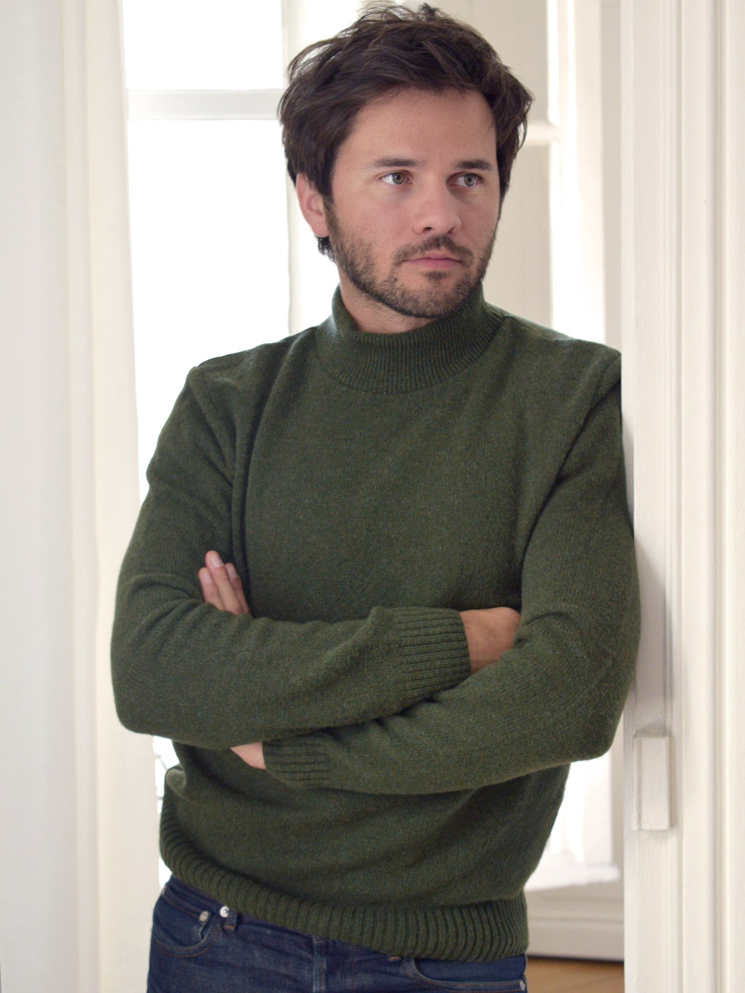 pull en laine reyclée
