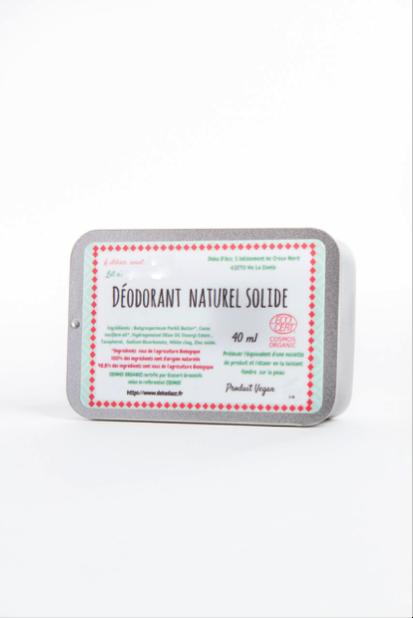 déodorant bio solide