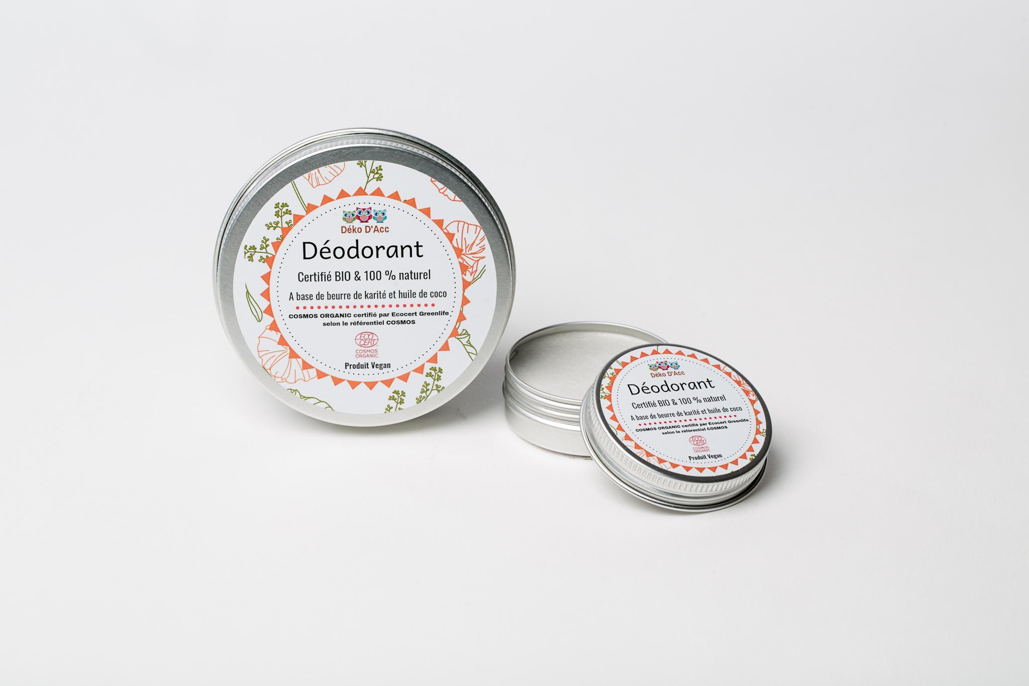déodorant solide bio et vegan