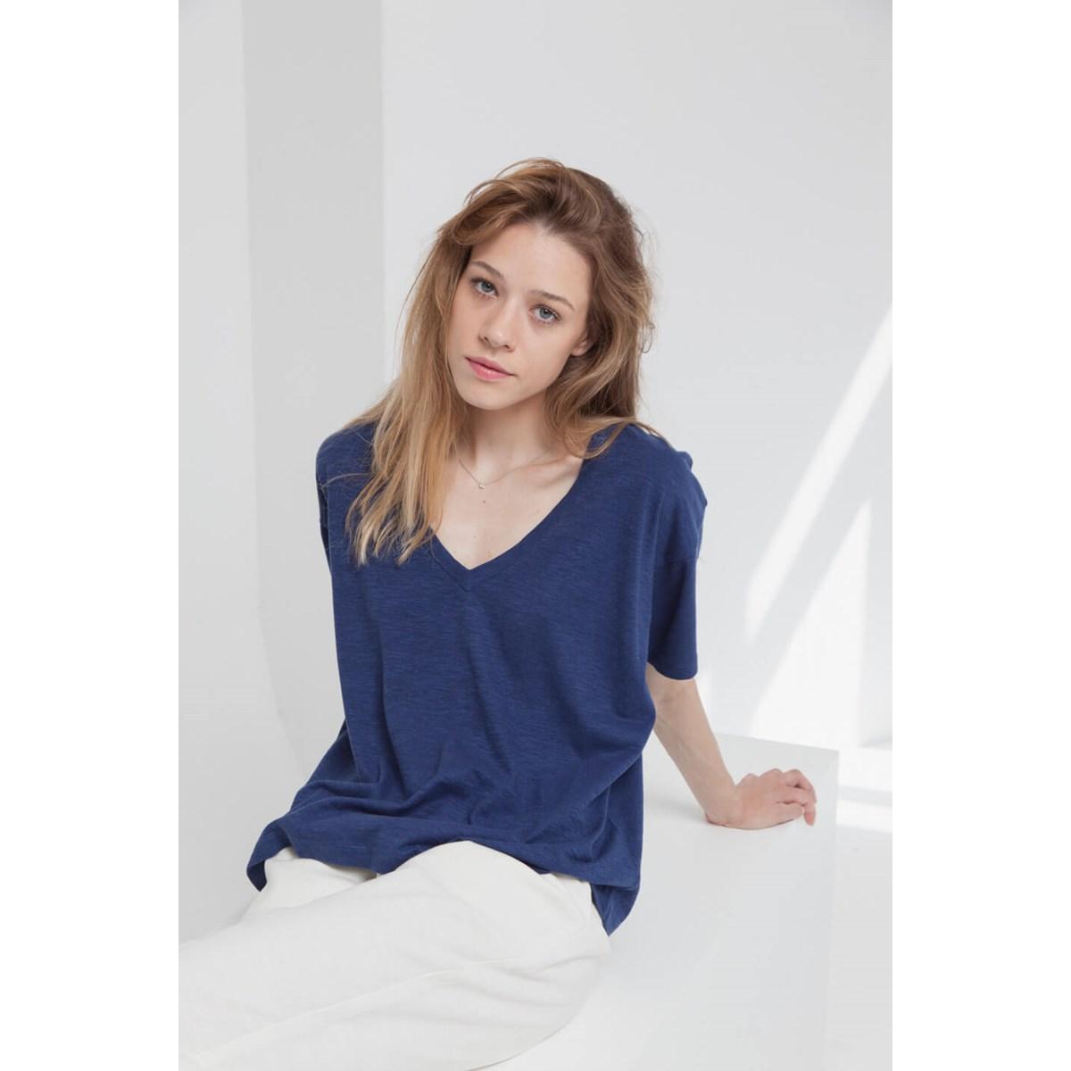 Tee-shirt Mae Sue en coton bio et chanvre