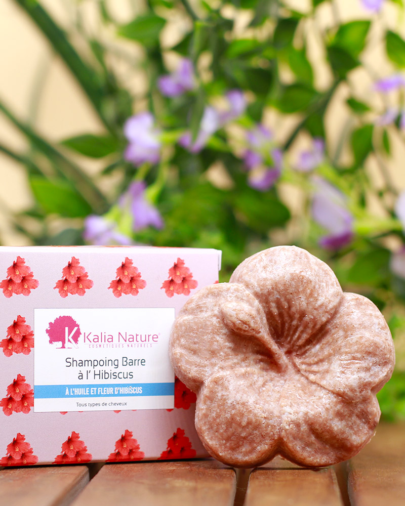 Shampoing solide Hibiscus