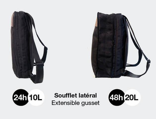 soufflet sac extensible 24h 48h