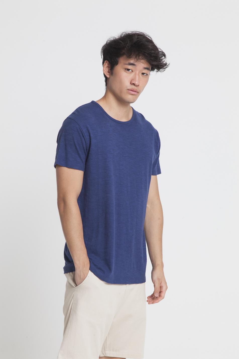 T-shirt en chanvre et coton bio pour homme
