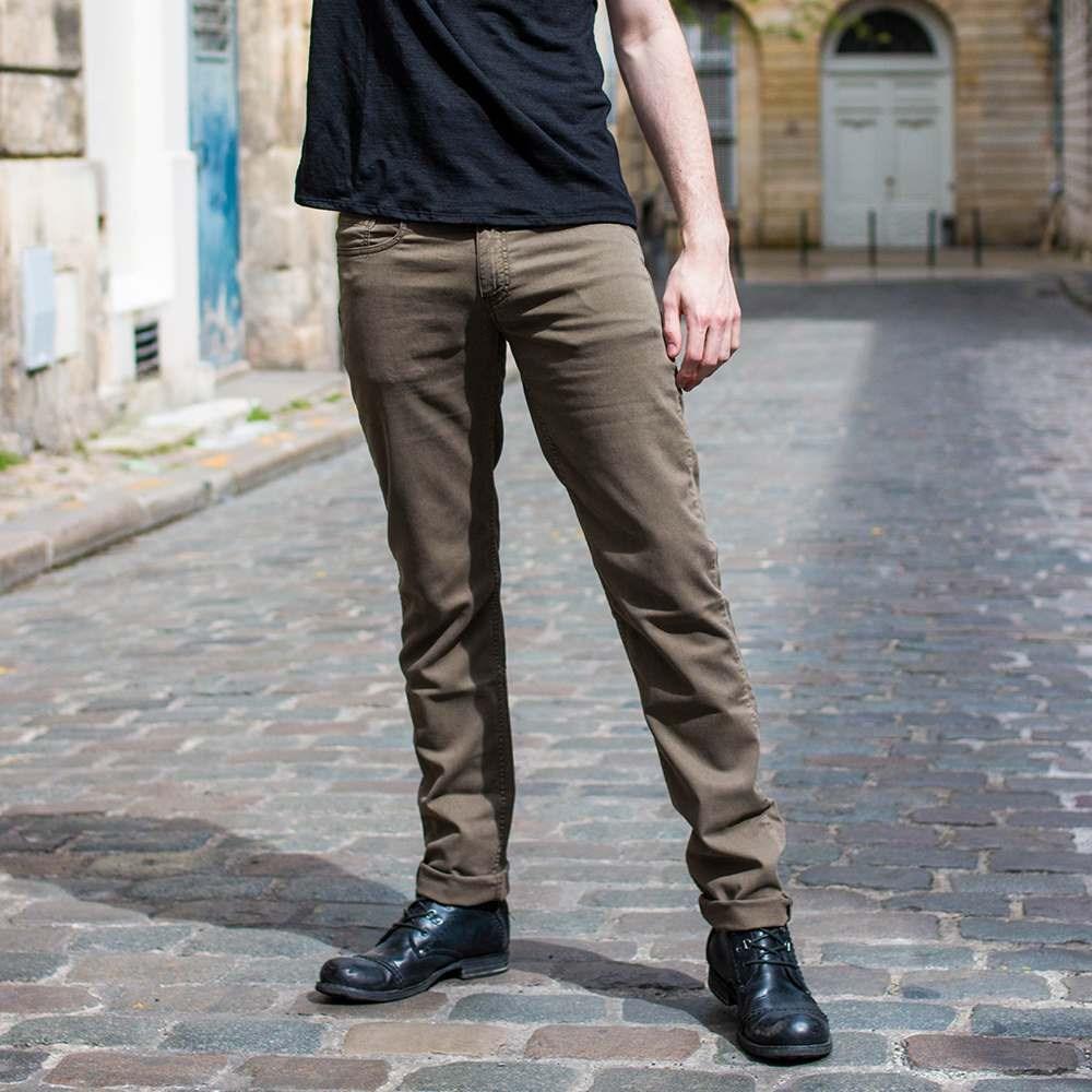 Pantalon homme en lyocell