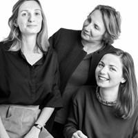 Domitille, Bérengère et Justine