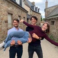 Clara, Amaury et Simon