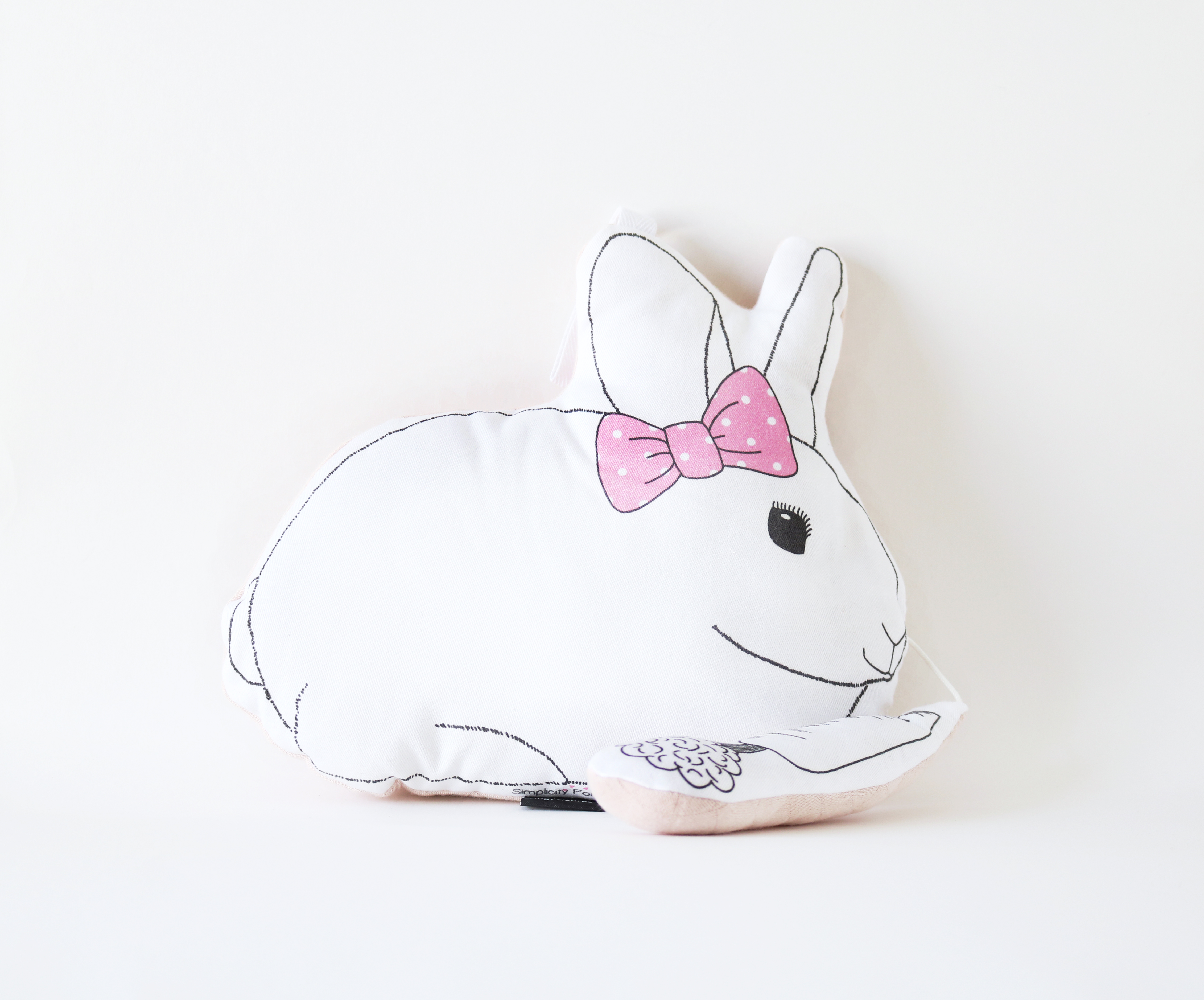 Coussin musical Lapin et sa carotte mélodie Happy de P. William