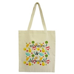 Tote Bag Fruit-bikini épais 100% coton