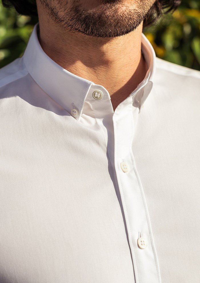Chemise SAINT-REMY- Made in France - Blanc 5