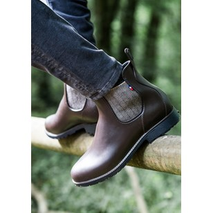 Boots MONTPLUIE - Made in France Marron