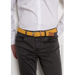 Ceinture PAULETTE - Made in France - Moutarde