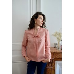 Blouse LAURA - Rose