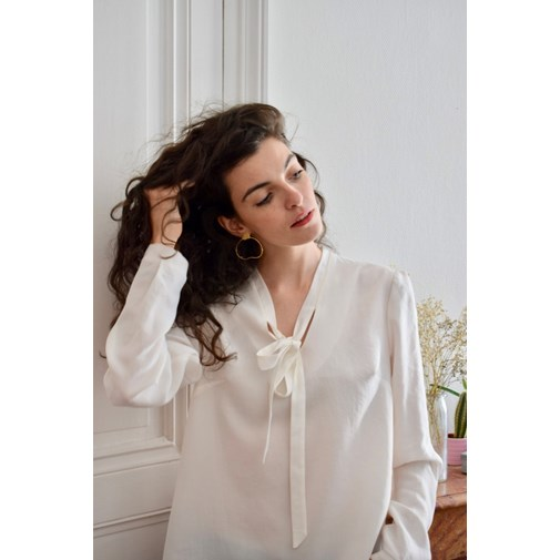 Blouse LAURA - Blanche