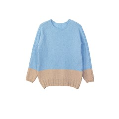 Pull Laurier bicolore