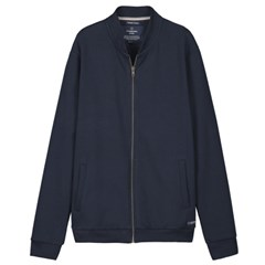 Sweat bomber zippé