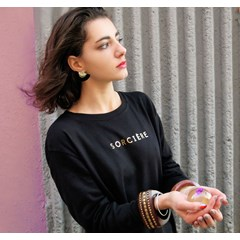 Sweat-shirt BLACK SORCIÈRE