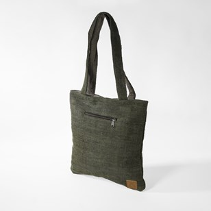 Latika Forêt - Tote bag en chanvre