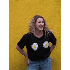 T-shirt en coton bio - FLOWER POWER