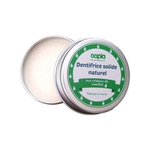 Dentifrice solide naturel - Menthe