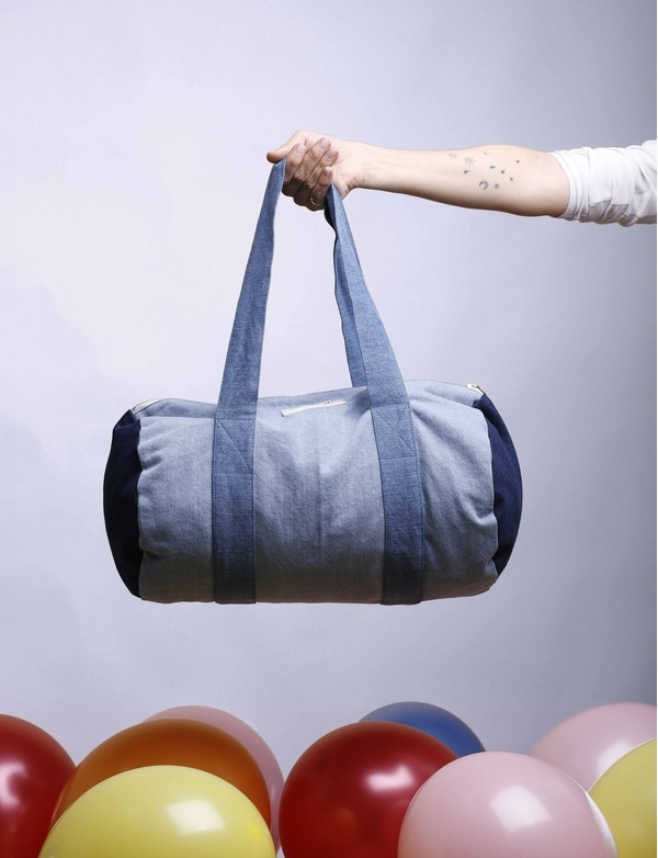 Ballu Sac Polochon Denim - SPRING SUMMER