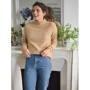 Pull laine recyclée - Made in France - Leonardo F