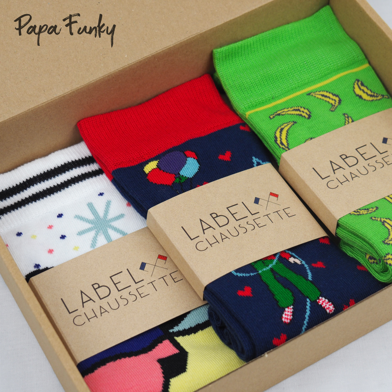 Pack chaussettes - Papa Funky