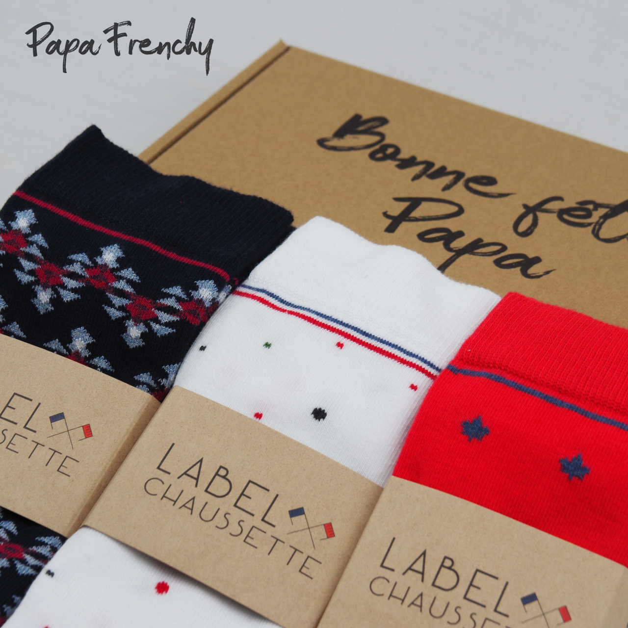 Pack chaussettes - Papa Frenchy