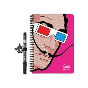 Why Note Book, le carnet A5 réutilisable - Dali