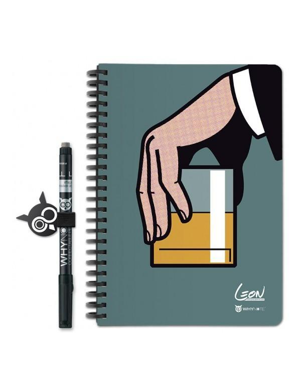Why Note Book, le carnet A5 réutilisable - Whisky