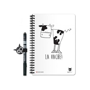 Why Note Book, le carnet A5 réutilisable - Oh la vache