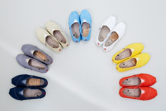 Espadrilles made in France