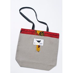 Sac Tote Bag - 40*38 cm - LUCKY red -