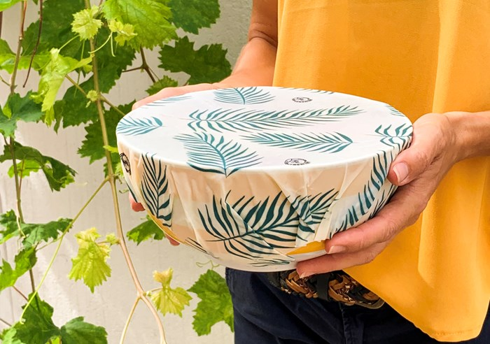 Pack de Bee Wraps   3 Emballages Alimentaires Réutilisables made in France - Tropical 5