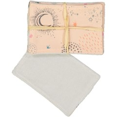 Lot de 5 lingettes lavables - Lior Rose