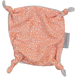 Doudou plat - Constellation Corail