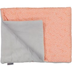 Couverture douceur - Constellation Corail