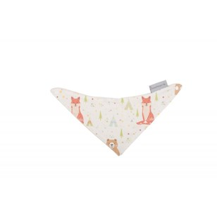 Bavoir bandana - Fox and Bear Multicolores