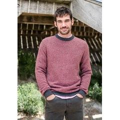 Pull ALENTOUR - Fibres recyclées - Made in France