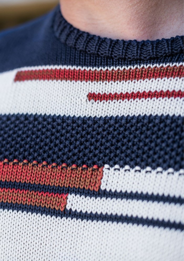 Pull ARCHIPEL - Made in France - Coton Bio 3