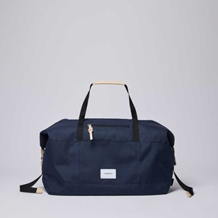Sac de week-end Sandqvist Milton Navy - Polyester recyclé