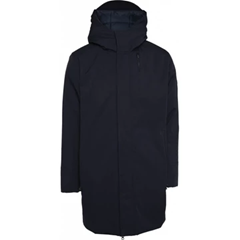 Long Manteau Soft Shell Total Eclipse - Matière recyclée - KnowledgeCotton Apparel