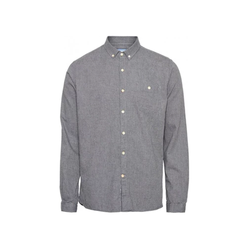 Chemise flanelle Grise - Coton Bio - KnowledgeCotton Apparel