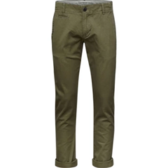 Chino Vert - Coton Bio - KnowledgeCotton Apparel