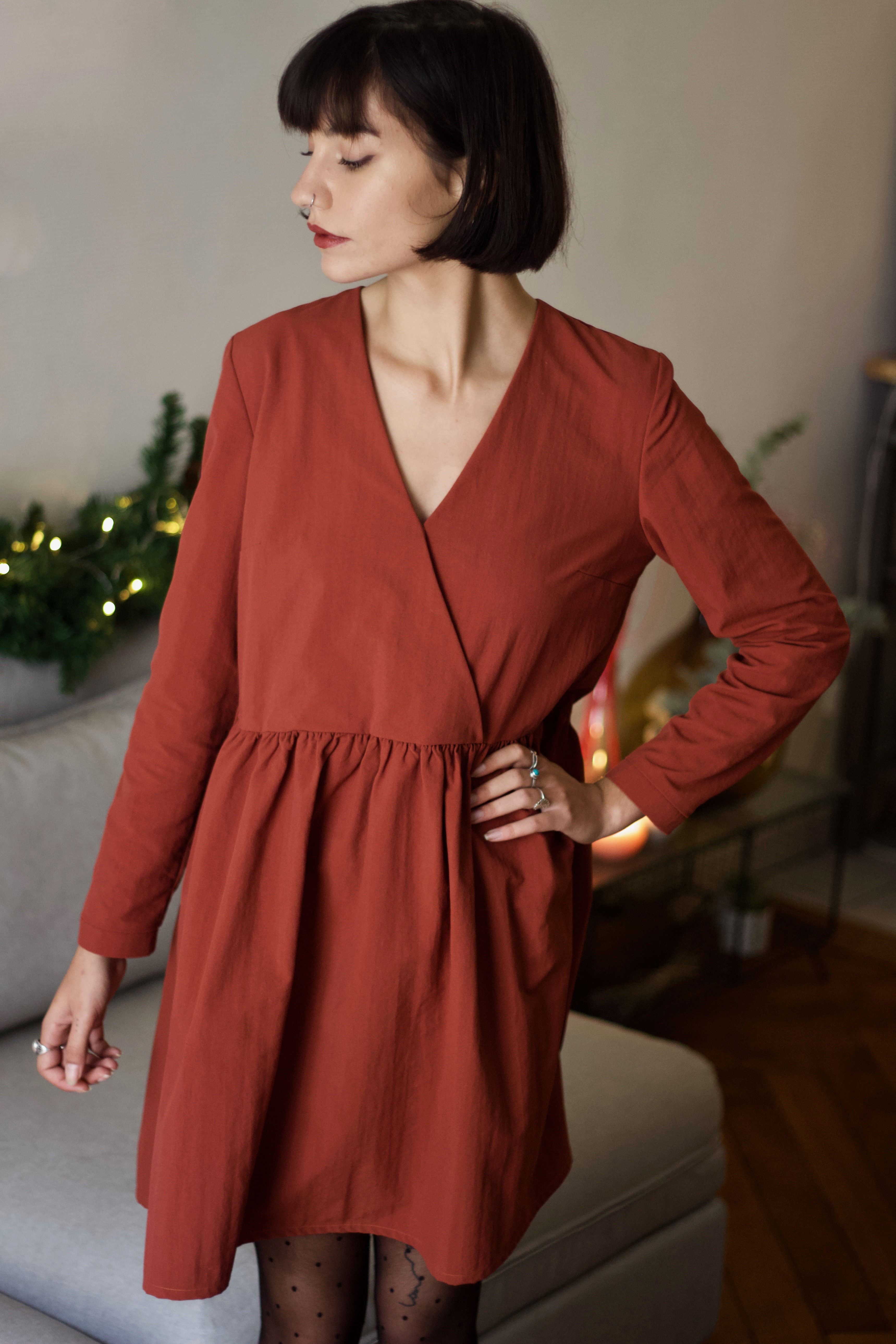 Robe Faustine - Coton/Polyester upcyclés