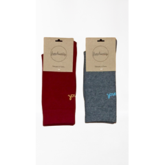 Les Duettistes - Chaussettes Frenchsunday  - Made In France