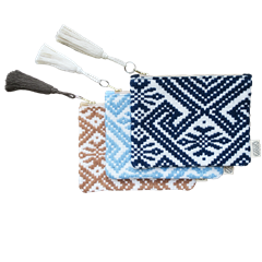 Trousse coton bio & upcycling