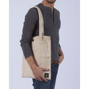 Tote bag en chanvre éthique & végan - KAILALI