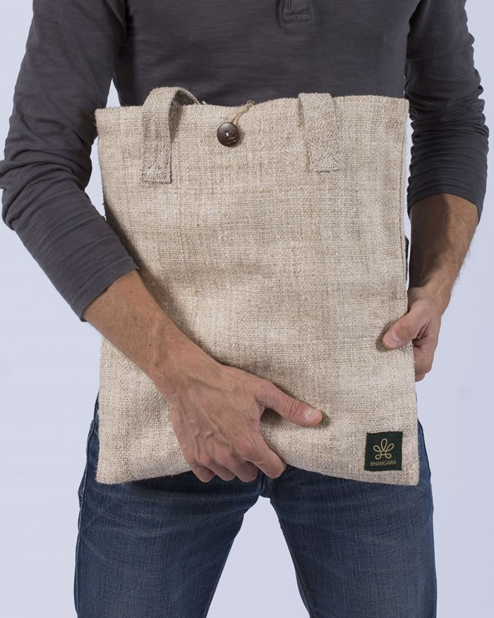 Tote bag en chanvre éthique & végan - KAILALI 4