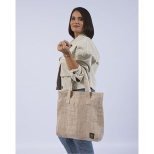 Tote bag en chanvre éthique & végan - GANDAKI