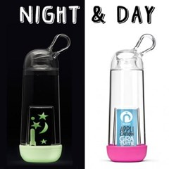 Duo Night & Day, 2 gourdes écologiques